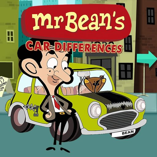 Mr. Bean's Car Differences